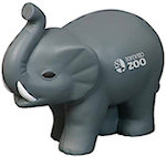 Elephant with Tusks Stress Balls